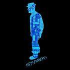 Heisenberg Blue by DesignLawrence