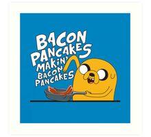 Adventure Time - Jake   Fanart Art Print