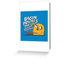Adventure Time - Jake | Fanart Greeting Card