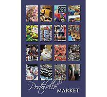 Portobello Market (Purple) Photographic Print
