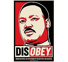Martin Luther King Civil Disobedience Shirts Photographic Print