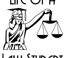 Life of a LAW student by custom-tees