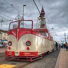 Open top Blackpool Tram by Mark  Swindells