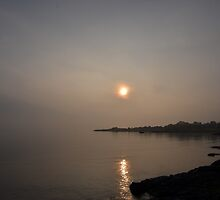 Sunrise over Craignure by Pete Johnston