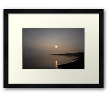 Sunrise over Craignure Framed Print