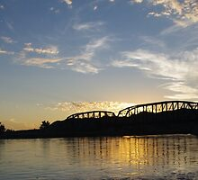 Old Milwaukee Bridge at Sunset by MsSexyBetsy