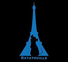 Ratatouille in Eiffel by TheCSimmons