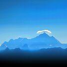 Everest below the clouds by John Dalkin