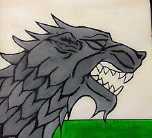 Stark Sigil - Winter Is Coming by Dougflip2k