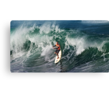 Kelly Slater at 2009 Quiksilver in Memory of Eddie Aikau .2 Canvas Print