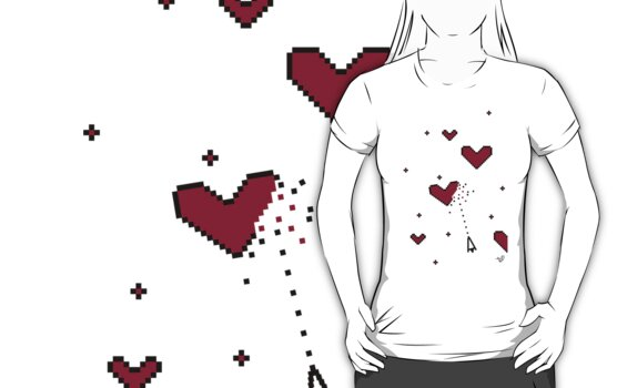VIDEO HEARTS by Tai's Tees by TAIs TEEs