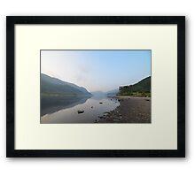 Fishing on Loch Lubnaig Framed Print