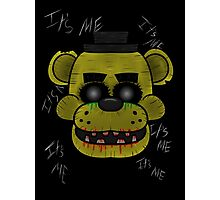 Golden Freddy (Five Night's at Freddy's) Photographic Print