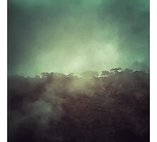 Mystery mountain Photographic Print