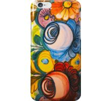 Porcelain Flower Decoration iPhone Case/Skin