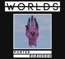 PORTER ROBINSON - WORLDS - ALBUM ART by JayTheSheep