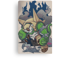 Chesnaught Like a Boss Canvas Print