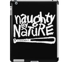 Naughty by Nature (white) iPad Case/Skin
