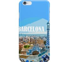 Barcelona is my home iPhone Case/Skin