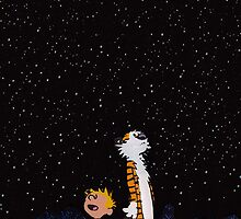 Calvin and Hobbes by jizzinmypants2
