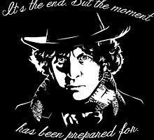 It's The End - 4th Doctor Regeneration Tee by sugarpoultry