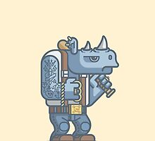 Thug Rhino by fabric8
