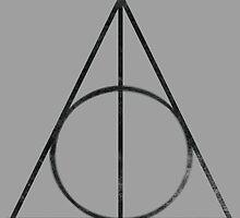 Deathly Hallows Logo - Vintage by Johan12345
