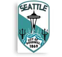 Rep Your City: Seattle Canvas Print
