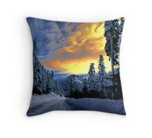 I Have The Blues Throw Pillow