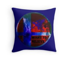 Ridley in smash bros Throw Pillow