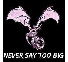 Ridley - Never say too big Photographic Print