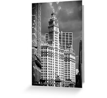 Wrigley Building Chicago Illinois Greeting Card