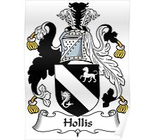 Hollis Coat of Arms (English) Poster
