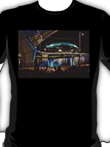 The Portress, the new Adelaide Oval by night T-Shirt