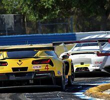 Corvette vs Porsche- Sebring 2014 by topkartracer