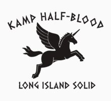 CAMP HALF-BLOOD LONG ISLAND SOUND T-Shirt Tee Percy Olympus Jackson Book by beardburger