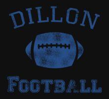 DILLON PANTHERS TSHIRT Friday Night Lights Football TEE TV Show East North T by beardburger