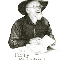 Sir Terry Pratchett by art-koncept
