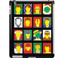Faces of Carrey iPad Case/Skin