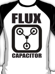 FLUX CAPACITOR TSHIRT Funny BACK TO THE FUTURE TEE Humor 80s DOC BROWN Marty VTG T-Shirt