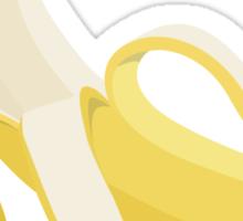Mmm. Banana Sticker