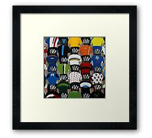 Maillots 2014 Framed Print
