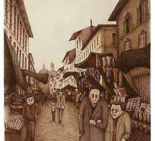 The Market at San Lorenzo  by Steve Bonello