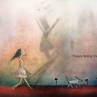 Happy being me by Amanda  Cass