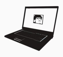Lawrence Sonntag Laptop silhouette! by SebFalcone