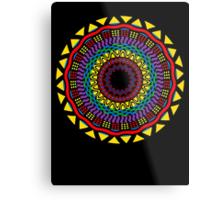 Africa Mandala Metal Print