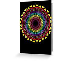 Africa Mandala Greeting Card