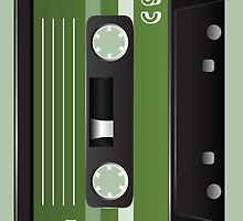 Cassette Tape Case by artvia