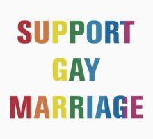 Support Gay Marriage by artvia