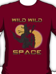 Wild Wild Space Bounty Hunter T-Shirt